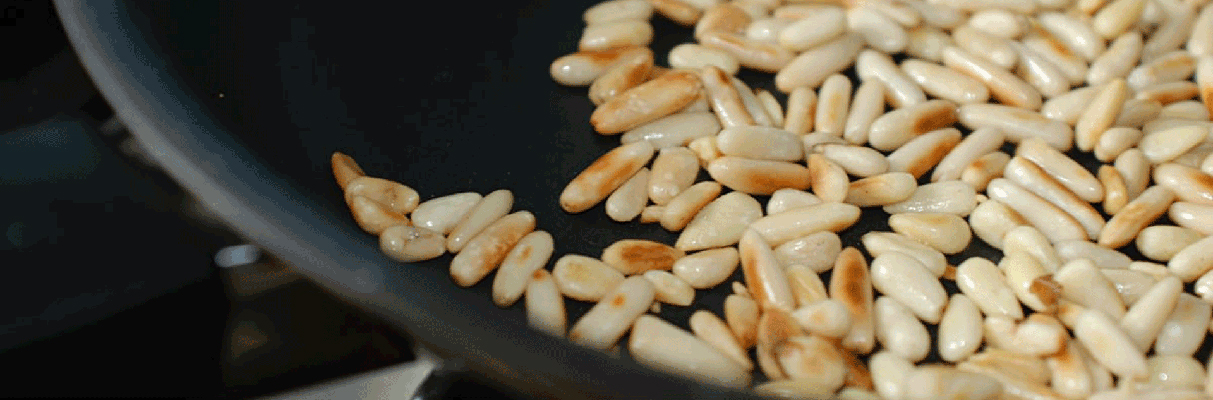 Pine Nuts Production